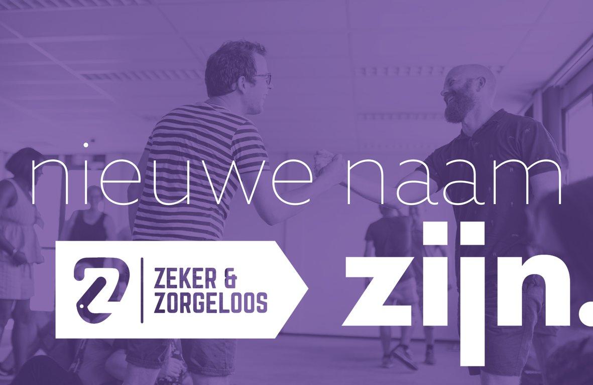 Nieuwe naam Zeker & Zorgeloos